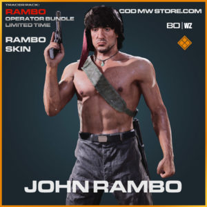 John Rambo skin in Cold War and Warzone