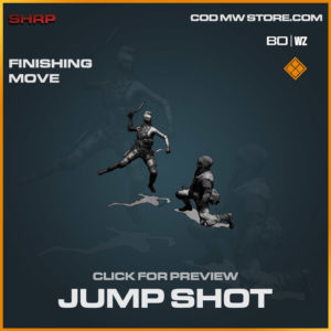 Jump Shot finishing move in Cold War and Warzone