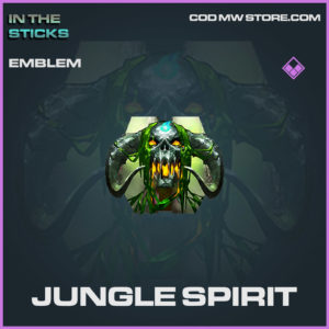 Jungle Spirit emblem in Cold War and Warzone