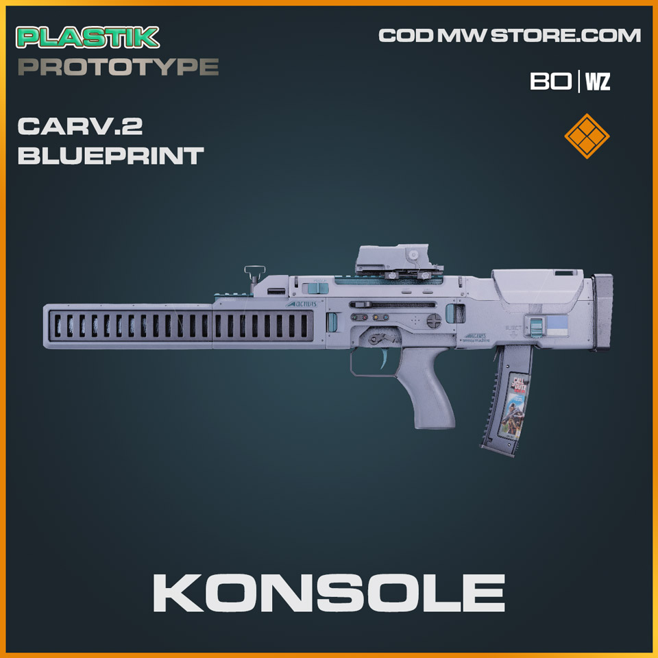Konsole Carv.2 blueprint skin in Cold War and Warzone