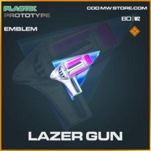 Lazer Gun emblem in COld War and Warzone