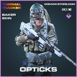 Opticks Baker Skin in Cold War and Warzone