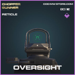 Oversight Reticle in Cold War and Warzone