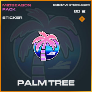 Palm Tree sticker in Cold War and Warzone