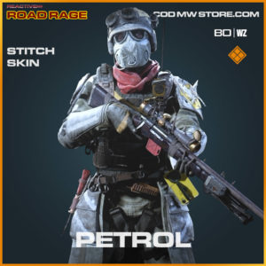 Petrol stitch skin in Cold War and Warzone