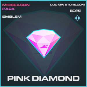 Pink Diamond emblem in Cold War and Warzone