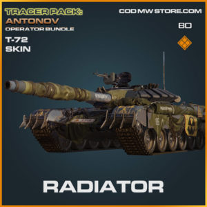 Radiator T-72 blueprint skin in Cold War