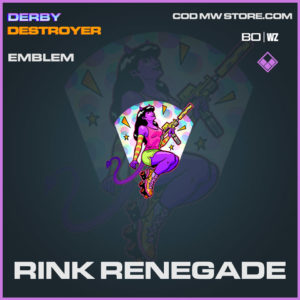 Rink Renegadee emblem in Cold War and Warzone