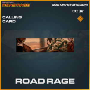 Road Rage calling card in Cold War and Warzone