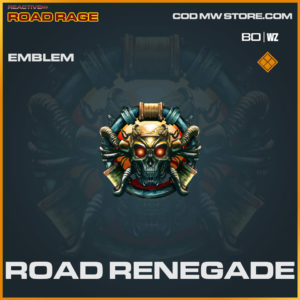 Road Renegade emblem in Cold War and Warzone