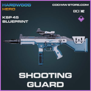 shooting guard ksp 45 blueprint in Cold War and Warzone