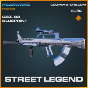 street legend qbz-83 blueprint in Cold War and Warzone