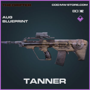 Tanner AUG Skin blueprint in Cold War and Warzone