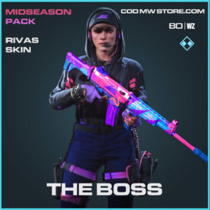The Boss Rivas skin in Cold War and Warzone