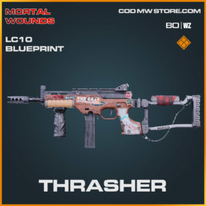 Thrasher LC10 blueprint skin in Cold War and Warzone