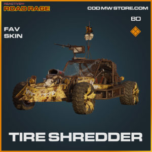 Tired Shredder FAV skin in Cold War and Warzone
