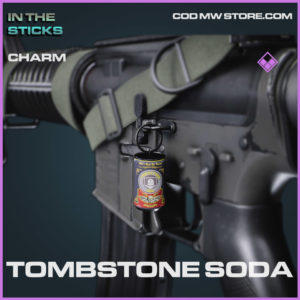 Tombstone Soda charm in Cold War and Warzone