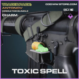 Toxic Spell charm in Cold War and Warzone