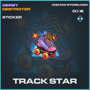 Track Star Sticker in Cold War and Warzone