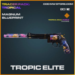 Tropic Elite magnum blueprint skin in Cold War and Warzone