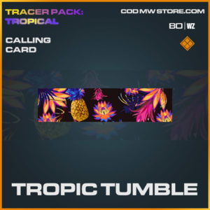 Tropoic Tumble calling card in Cold War and Warzone