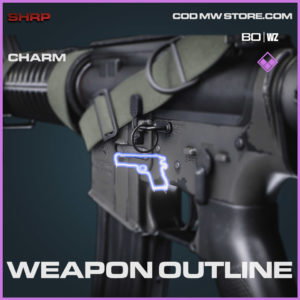 Weapon Outline charm in Cold War and Warzone