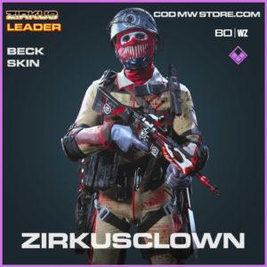 Zurkusclown Beck Skin in Cold War and Warzone