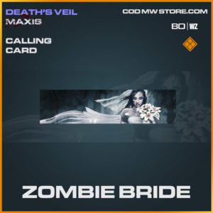 Zombie Bride calling card in Cold War and Warzone