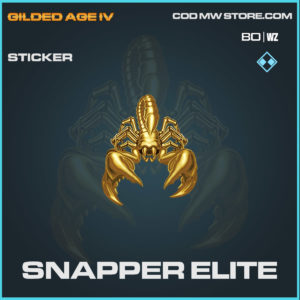 snapper elite sticker in Cold War and Warzone