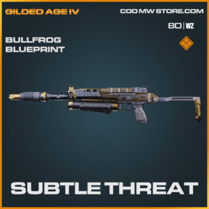 subtle threat bullfrog blueprint in Cold War and Warzone