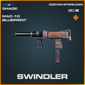 swindler mac 10 legendary blueprint n Cold War and Warzone