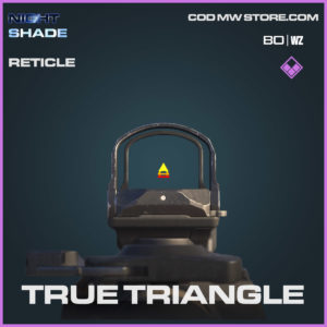 true triangle reticle n Cold War and Warzone