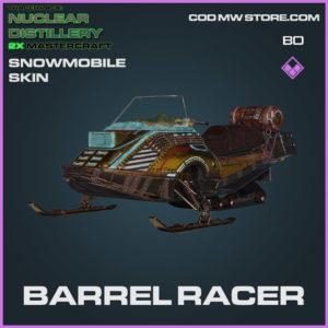Barrel Racer snowmobile skin in Cold War