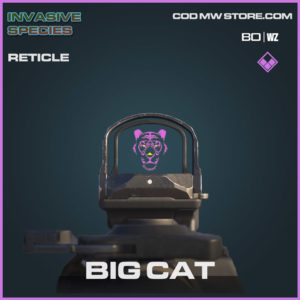 Big Cat Reticle in Cold War and Warzone