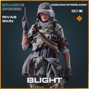 Blight Rivas Skin in Cold War and Warzone
