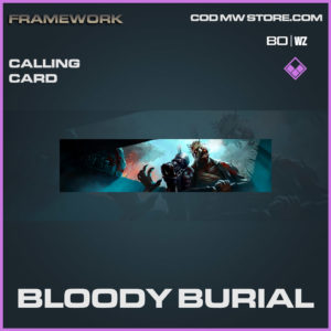 Bloody Burial calling card in Cold War and Warzone