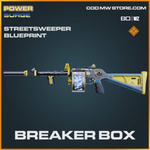 Breaker Box Streetsweeper blueprint skin in Cold War and Warzone