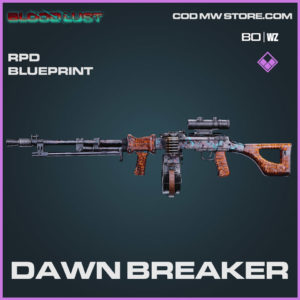 Dawn Breaker RPD Blueprint in Cold War and Warzone