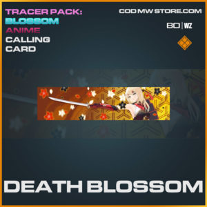 death blossom calling card in Cold War and Warzone