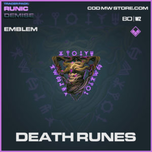Death Runes emblem in Cold War and Warzone