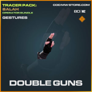 Double Guns gestures in Cold War and Warzone