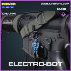 Electro-Bot charm in Cold War and Warzone