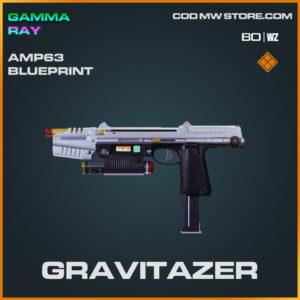 Gravitazer AMP63 blueprint skin in Cold War and Warzone