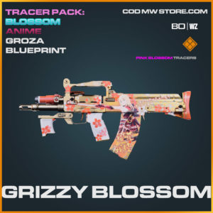 grizzy blossom groza blueprint in Cold War and Warzone