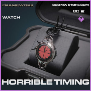 Horrible Timing Watch in Cold War and Warzone