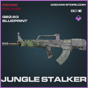 Jungle Stalker QBZ-83 blueprint skin in Cold War and Warzone