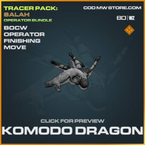 Komodo Dragon operator finishing move in Cold War and Warzone