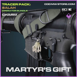 Martyr's Gift charm in Cold War and Warzone