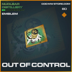 out of control emblem in Cold War and Warzone