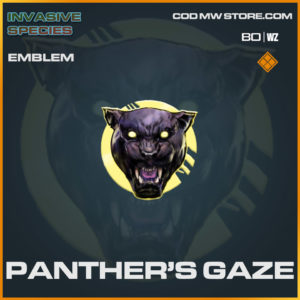 Panther's Gaze emblem in Cold War and Warzone